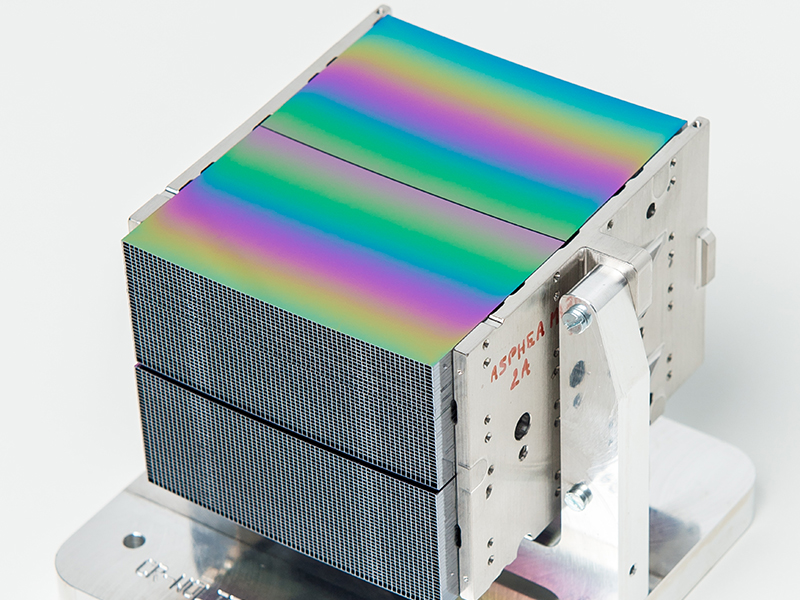 Silicon Pore Optics mirror modules for ATHENA telescope
