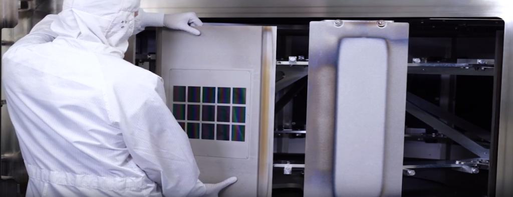 Silicon Pore Optics coating machine